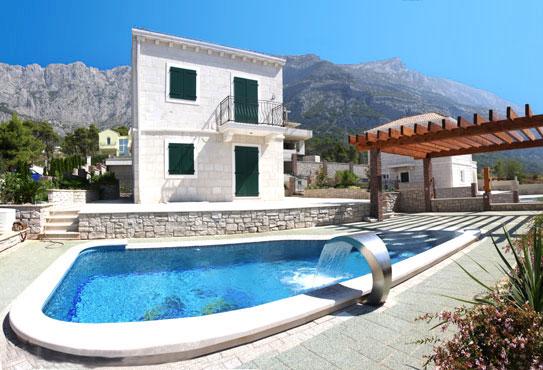 Feriehus Med Svømmebeng I Kroatia Makarska Riviera Croatia Holiday Homes